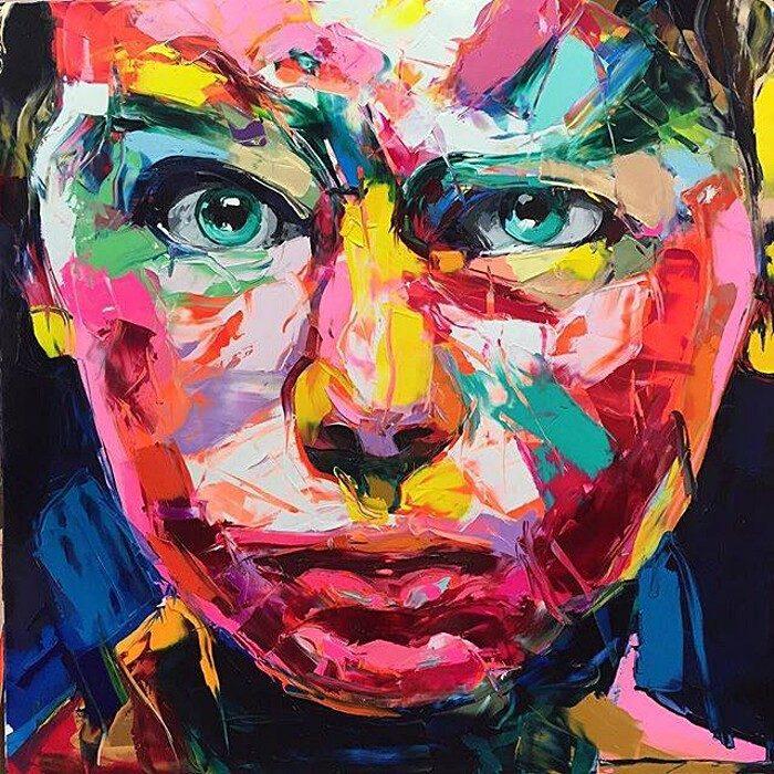 ritratti-colorati-dipinti-spatola-tela-francoise-nielly-06