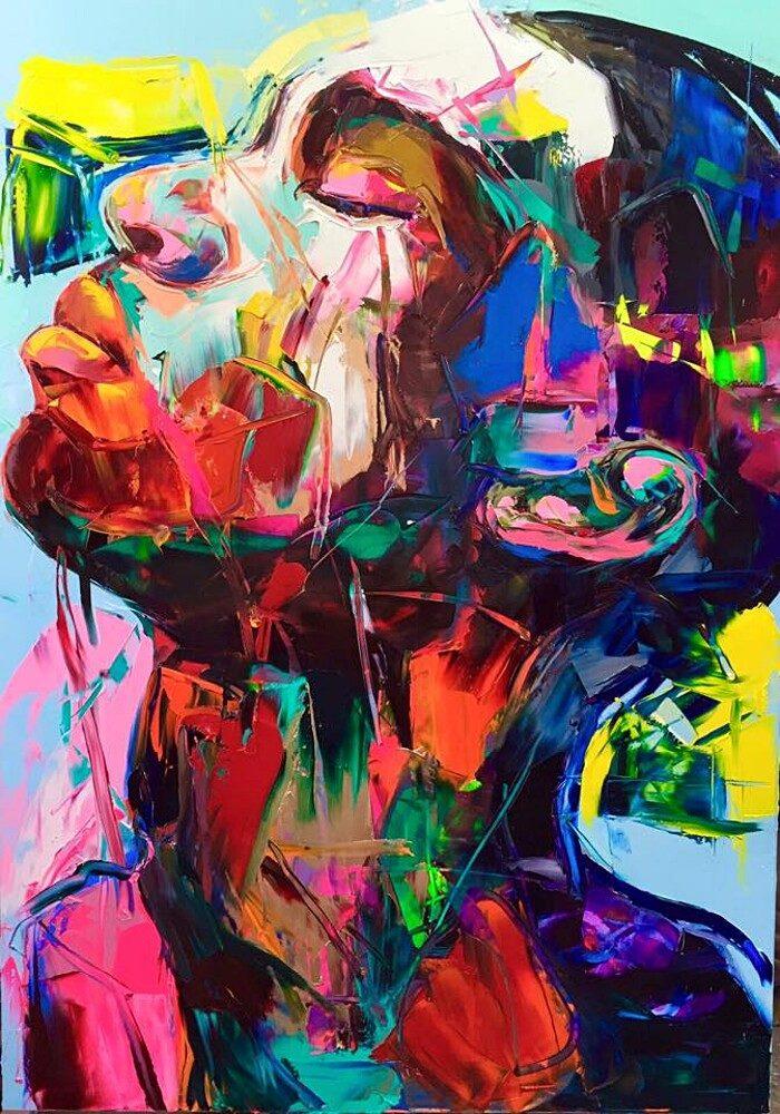 ritratti-colorati-dipinti-spatola-tela-francoise-nielly-08