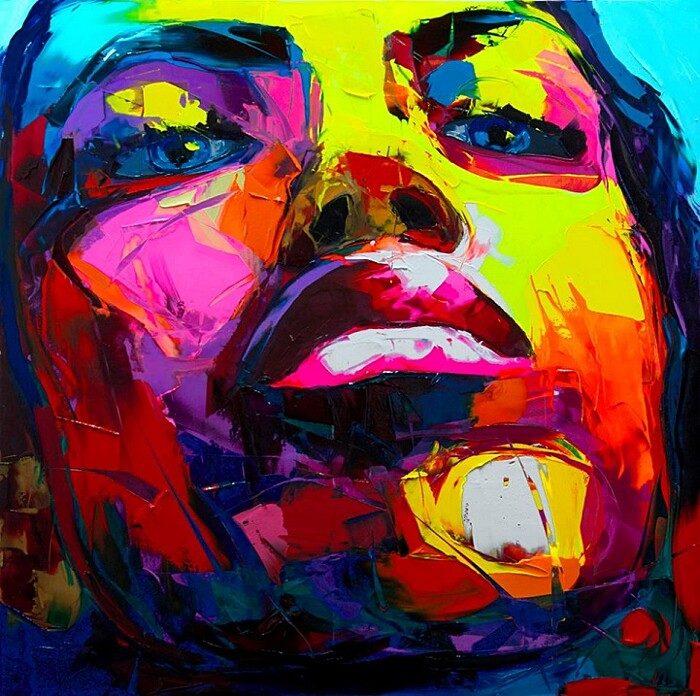 ritratti-colorati-dipinti-spatola-tela-francoise-nielly-09
