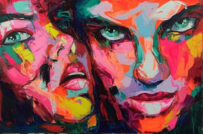 ritratti-colorati-dipinti-spatola-tela-francoise-nielly-10