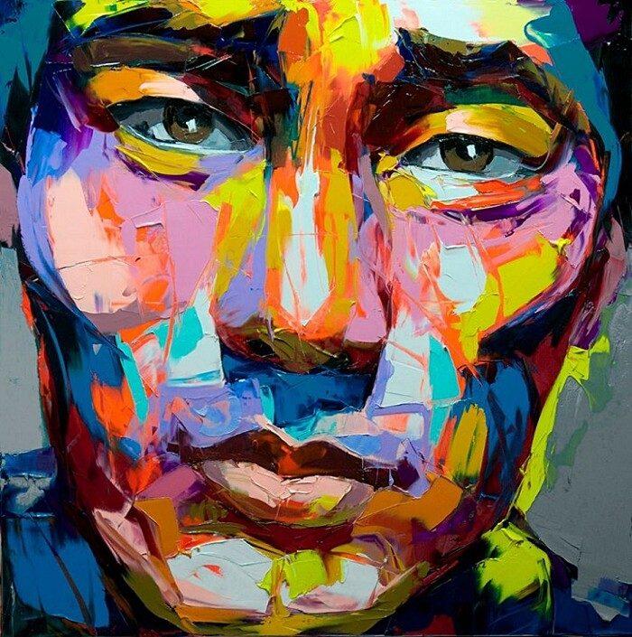 ritratti-colorati-dipinti-spatola-tela-francoise-nielly-12