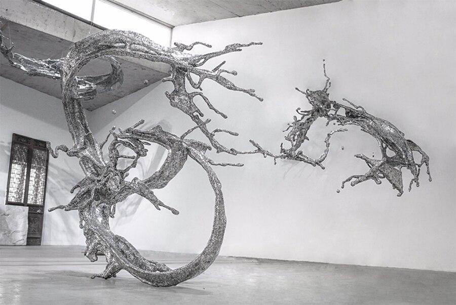 sculture-calligrafia-acciaio-zheng-lu-1