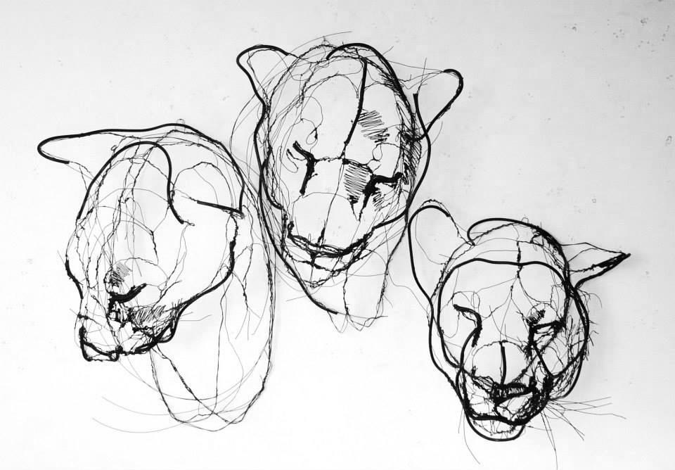 sculture-filo-metallico-animali-david-oliveira-4