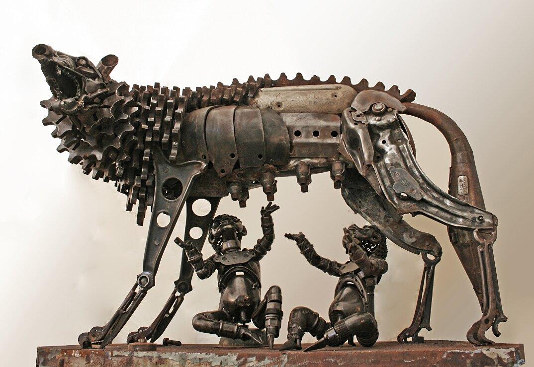 sculture-metallo-riciclato-patrick-alo-11