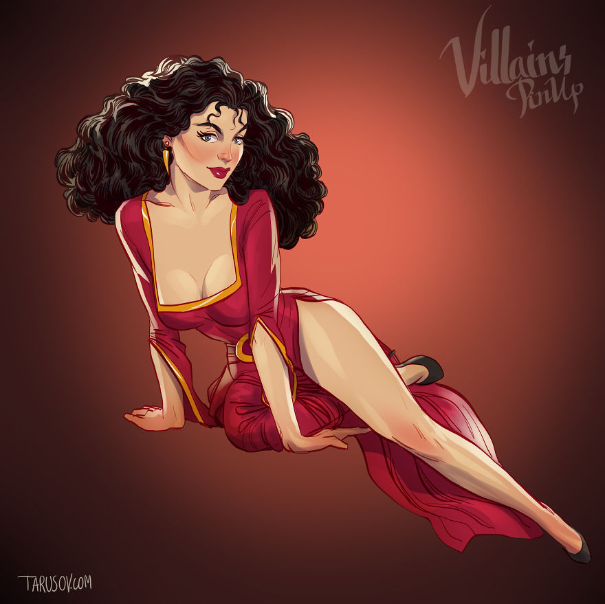 streghe-donne-cattive-disney-pin-up-andrew-tarusov-5