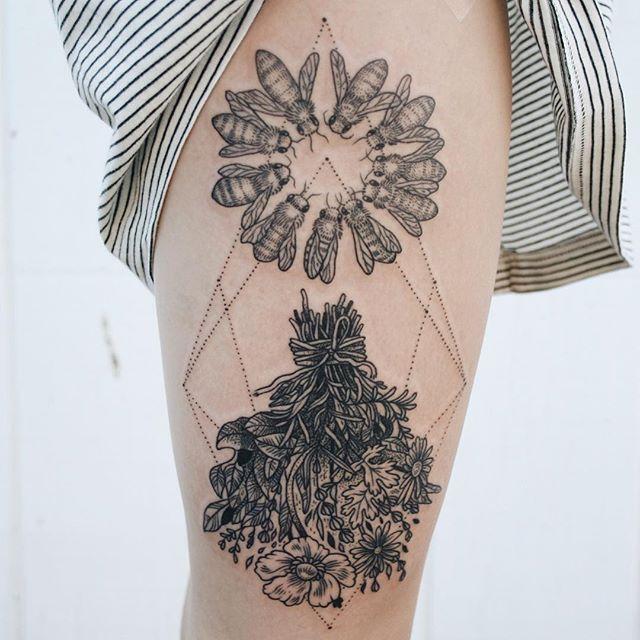 tatuaggi-flora-fauna-stile-vintage-pony-reinhardt-07