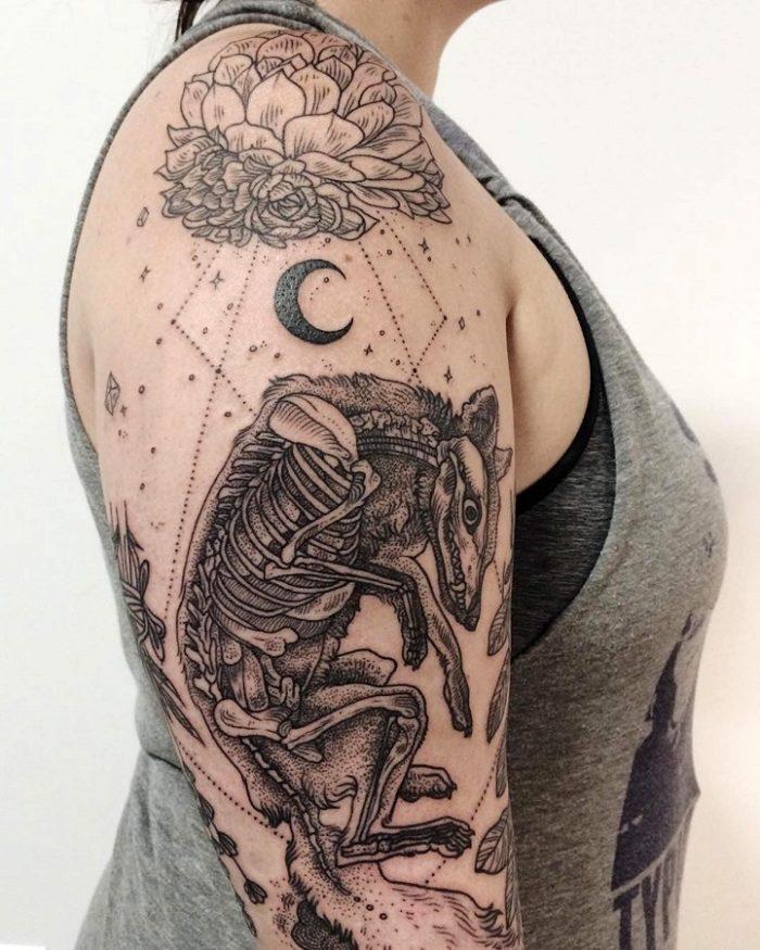 tatuaggi-flora-fauna-stile-vintage-pony-reinhardt-13