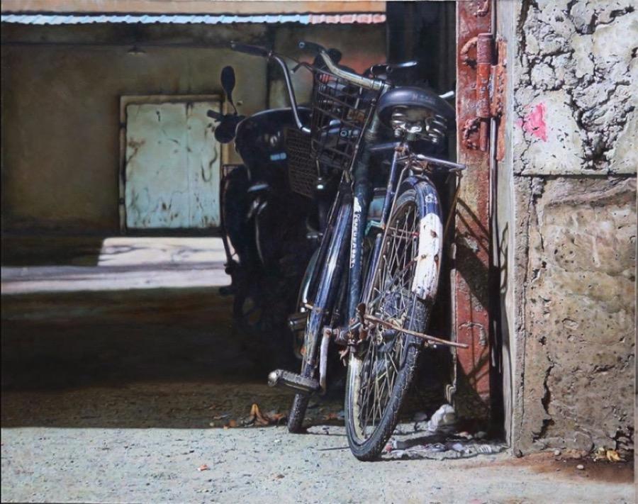 dipinti-iperrealisti-biciclette-pan-xun-6