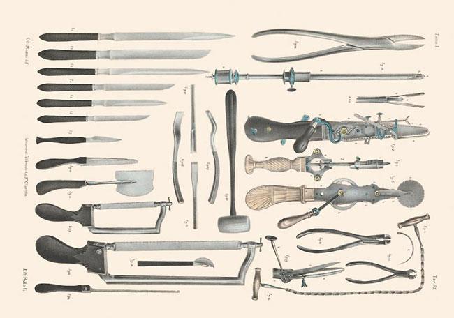 illustrazioni-vintage-800-medicina-chirurgia-richard-barnett-28