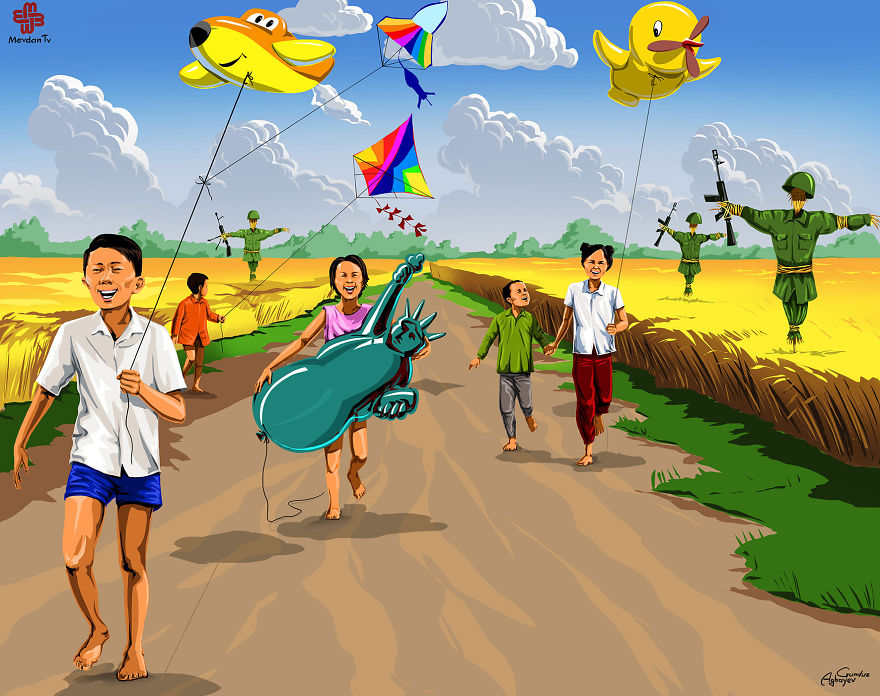 imagine-illustrazioni-satiriche-bambini-gunduz-aghayev-14