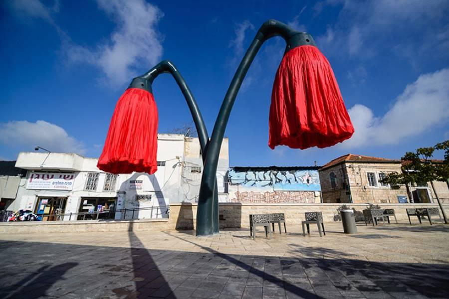 installazione-interattiva-fiori-giganti-gerusalemme-hqarchitects-5