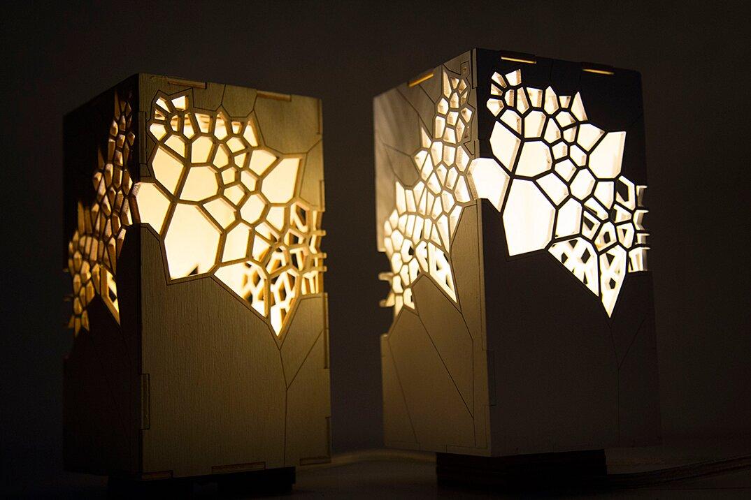 Lampade dal design geometrico di Mariam Ayvazyan - KEBLOG