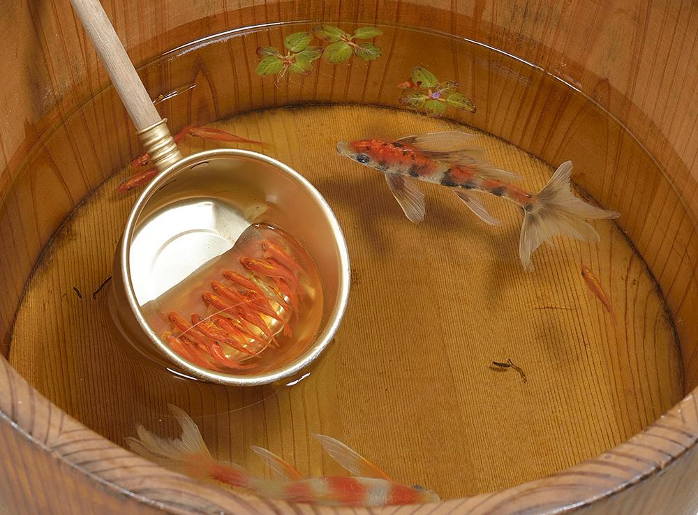 pesci-rossi-dipinti-strati-resina-iperrealismo-riusuke-fukahori-12
