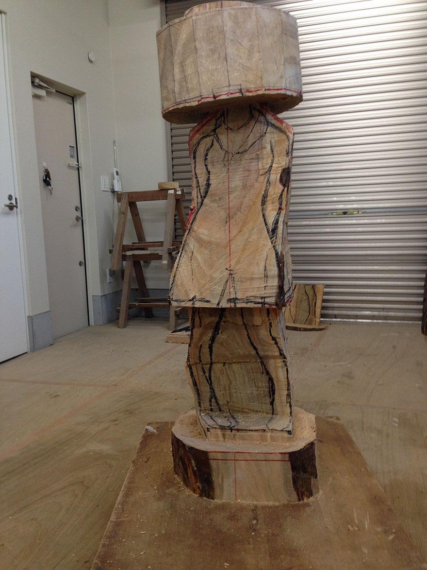 surreal-wooden-sculpture-art-yoshitoshi-kanemaki-6
