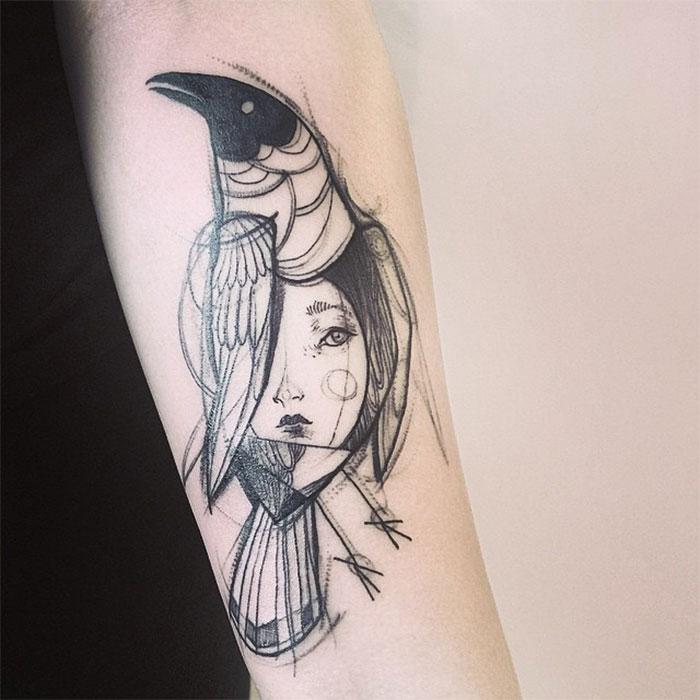 Famoso Tatuaggi che sembrano disegni a matita, di Nomi Chi - KEBLOG FQ69