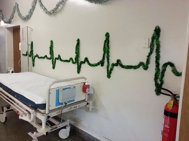 Decorazioni Natalizie Negli Ospedali