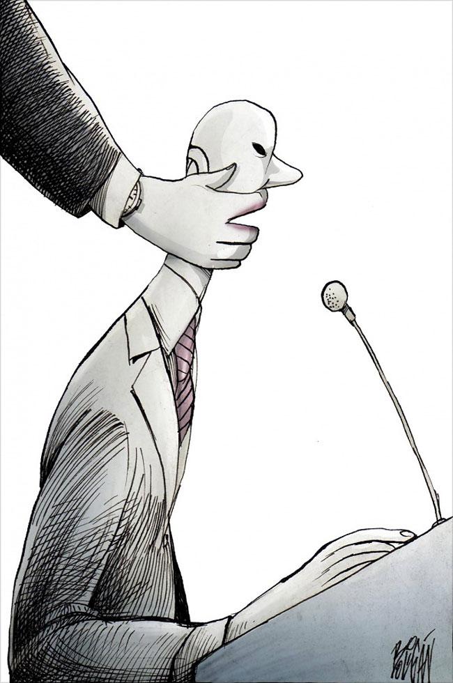 Illustrazioni Satiriche Criticano La Società Angel Boligan