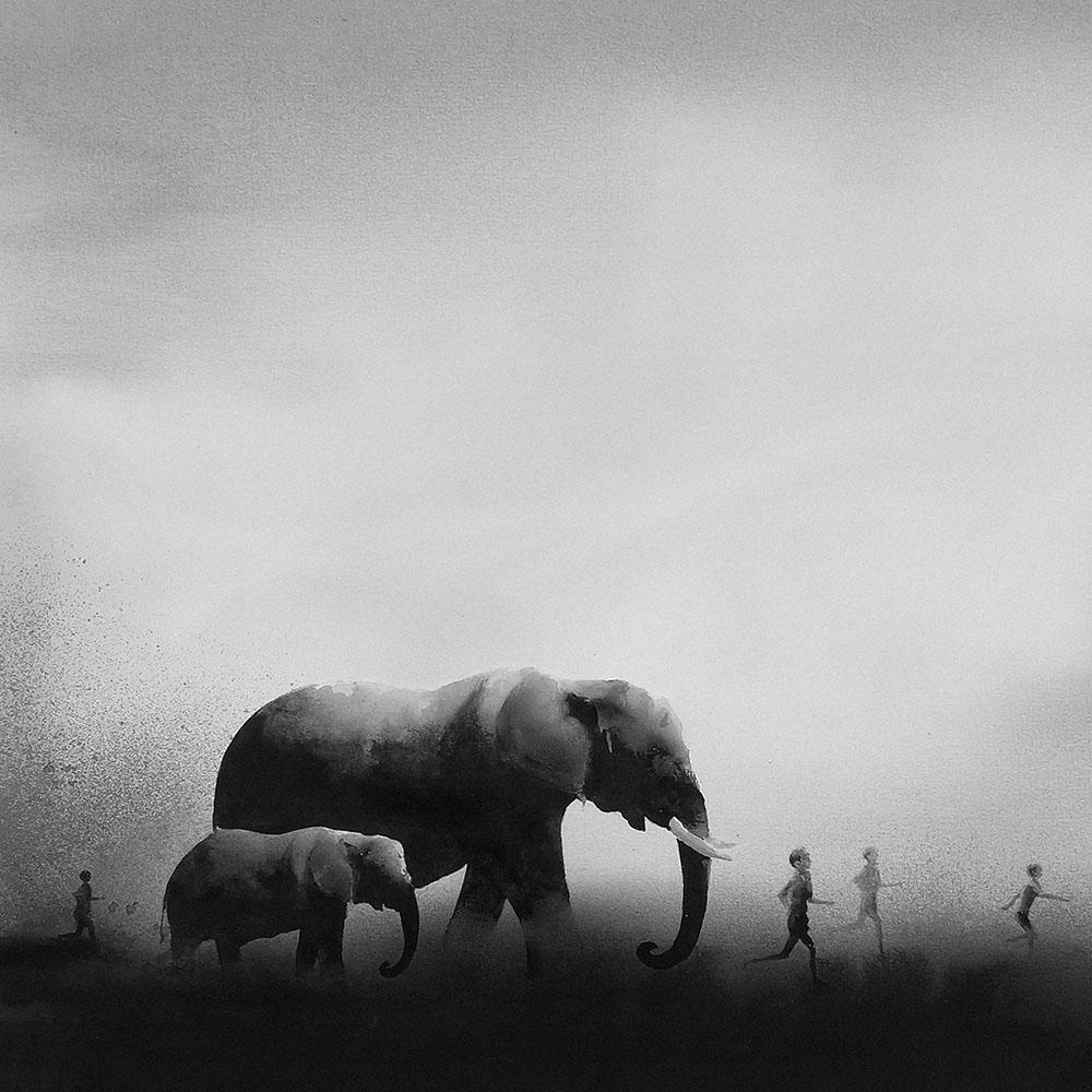 acquerelli-nero-animali-bambini-elicia-edijanto-5