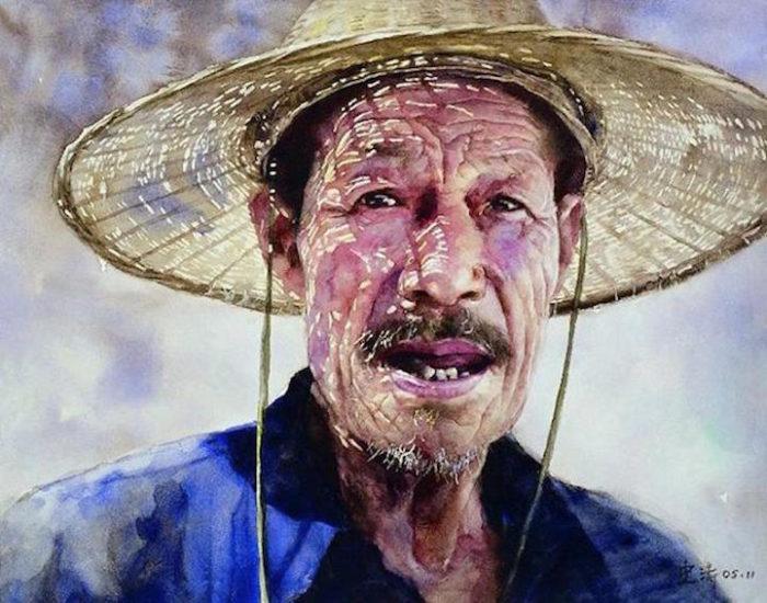 acquerelli-ritratti-tibet-liu-yungsheng-04
