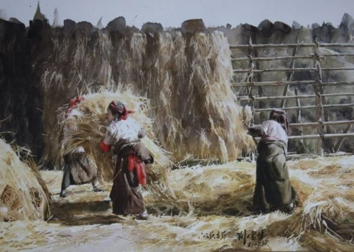 acquerelli-ritratti-tibet-liu-yungsheng-06