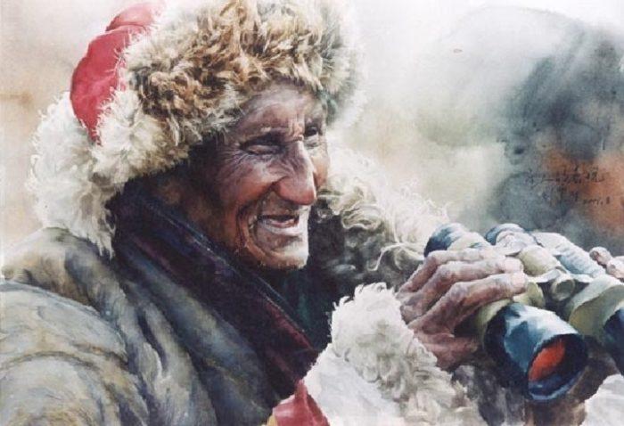 acquerelli-ritratti-tibet-liu-yungsheng-09