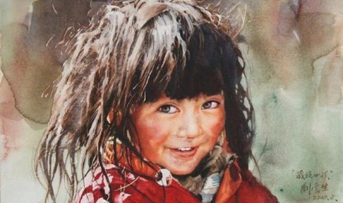 acquerelli-ritratti-tibet-liu-yungsheng-10