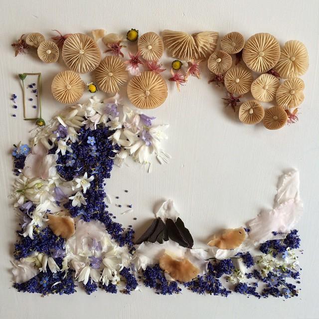 arte-composizioni-foglie-fiori-muschio-funghi-bridget-beth-collins-13