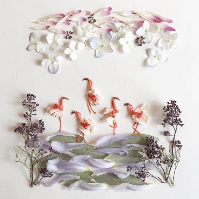 arte-composizioni-foglie-fiori-muschio-funghi-bridget-beth-collins-16