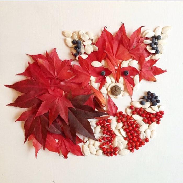 arte-composizioni-foglie-fiori-muschio-funghi-bridget-beth-collins-18