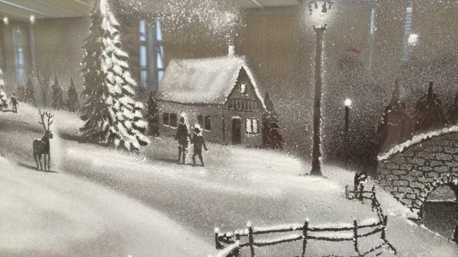 decorazioni-natale-neve-spray-ospedale-pediatrico-tom-baker-07