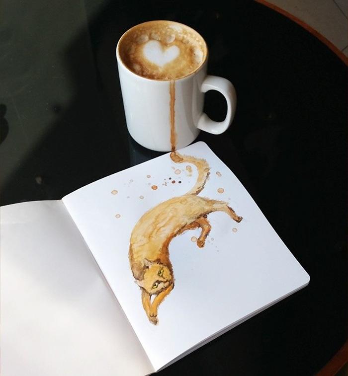 dipinti-caffe-gatti-elena-efremova-1