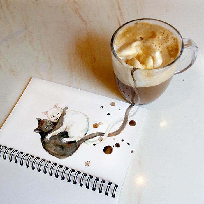 dipinti-caffe-gatti-elena-efremova-4