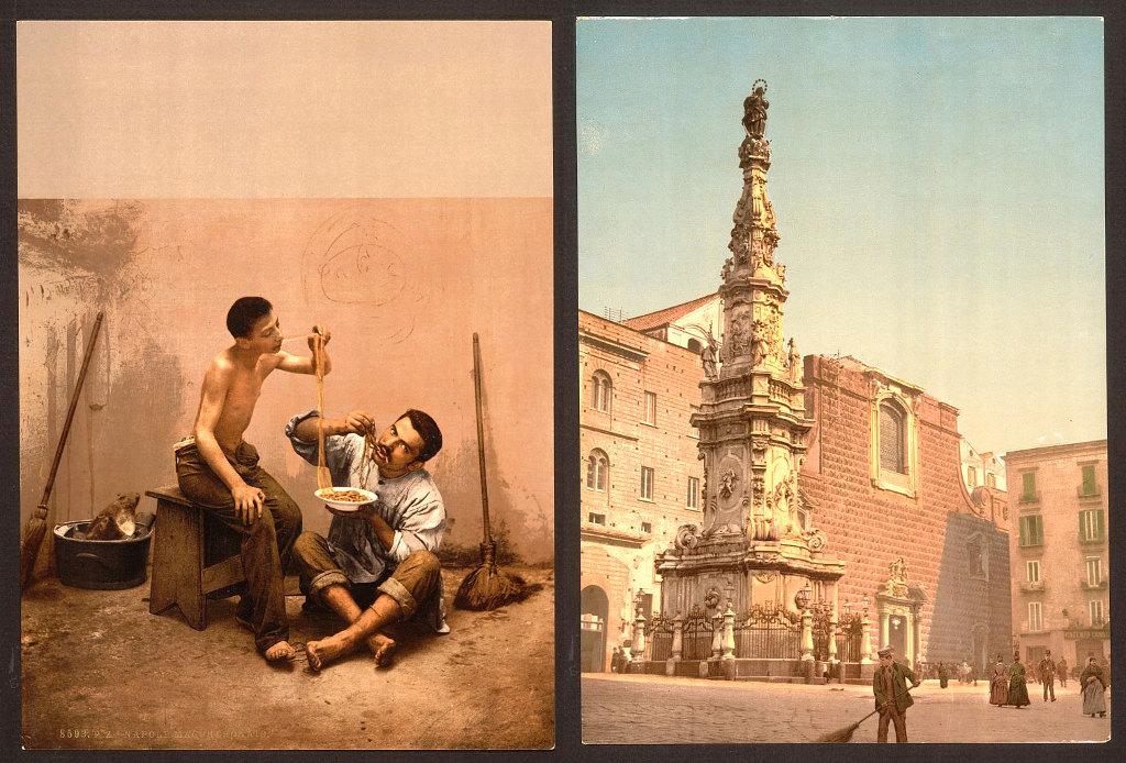 Napoli antica a colori 900 03 keblog - Immagini di tacchini a colori ...