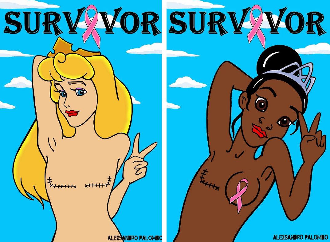 personaggi-femminili-cartoni-cancro-seno-alexsandro-palombo-survivor-1