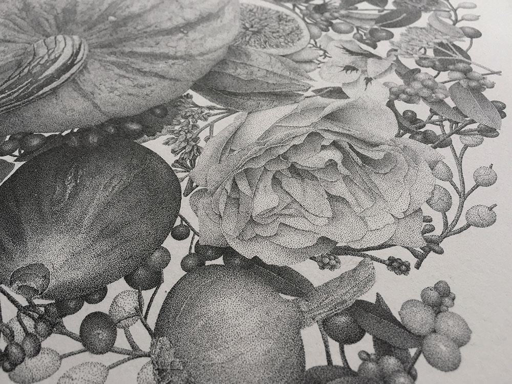puntinismo-illustrazione-autumn-xavier-casalta-5