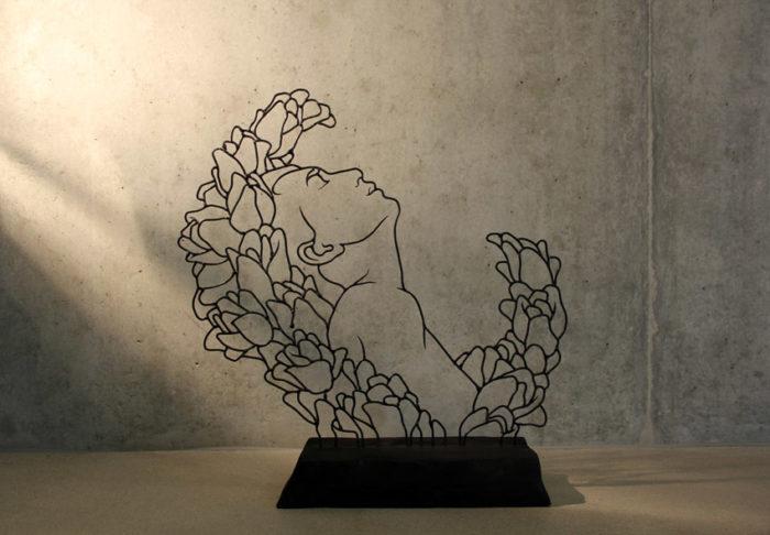 sculture-filo-metallo-disegni-gavin-worth-2