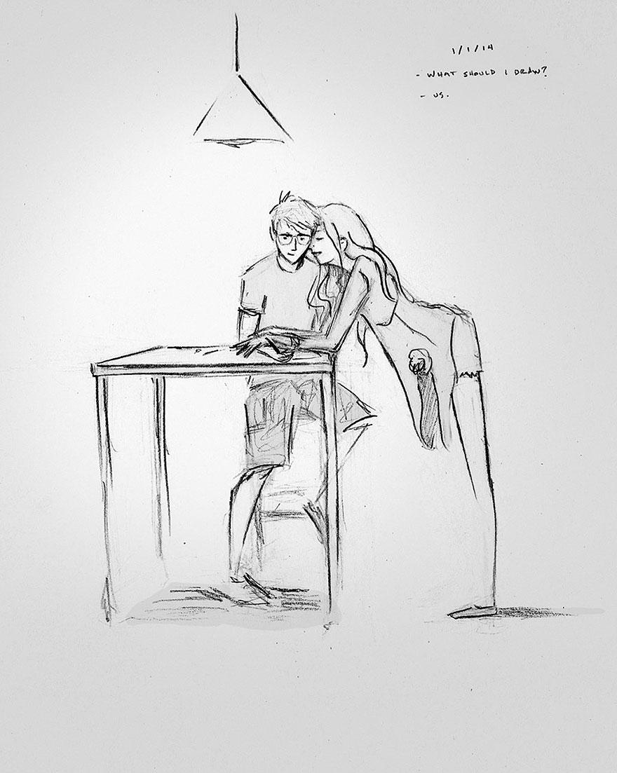 365-disegni-matrimonio-illustrazioni-amore-wiklund-08