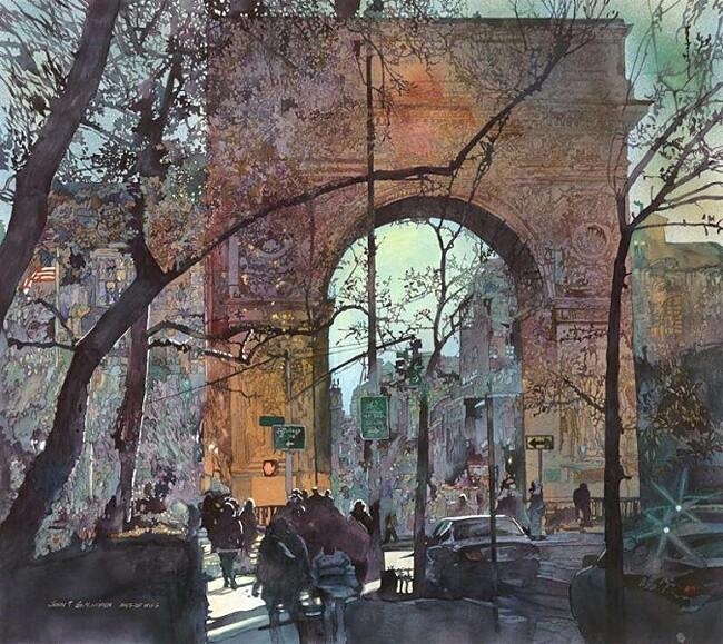acquerelli-realistici-paesaggi-urbani-john-salminen-03
