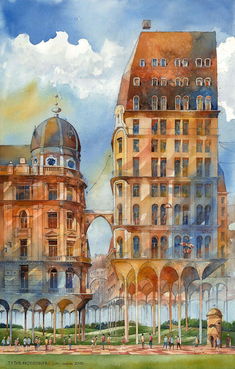 acquerelli-surreali-architettura-varsavia-tytus-brzozowski-4