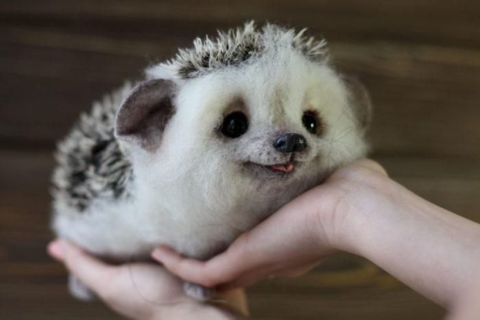 Adorabili animali di peluche realistici creati da artista russa