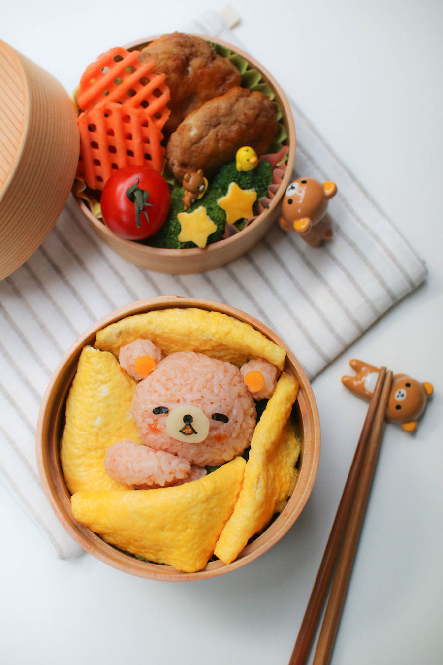 Assez Questa mamma prepara pasti ispirati ai cartoni per i suoi bambini  WP41