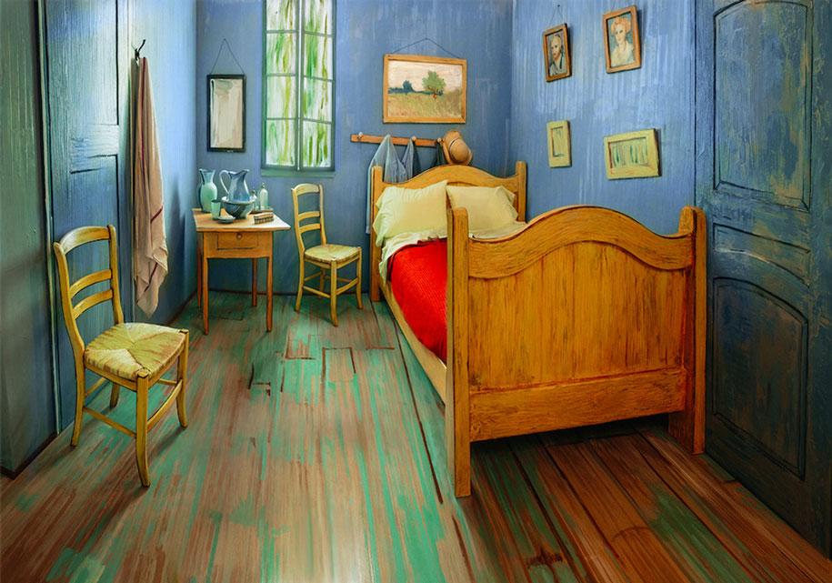 camera-letto-van-gogh-airbnb-art-institute-chicago-1