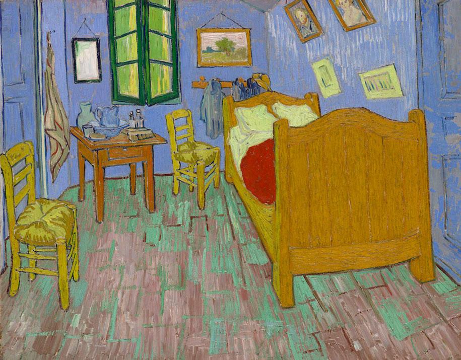camera-letto-van-gogh-airbnb-art-institute-chicago-2