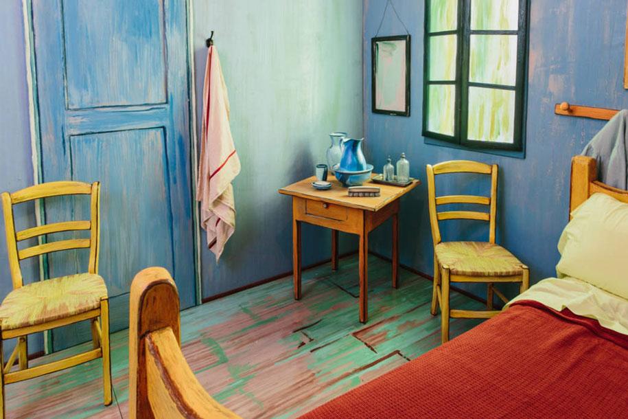 camera-letto-van-gogh-airbnb-art-institute-chicago-6