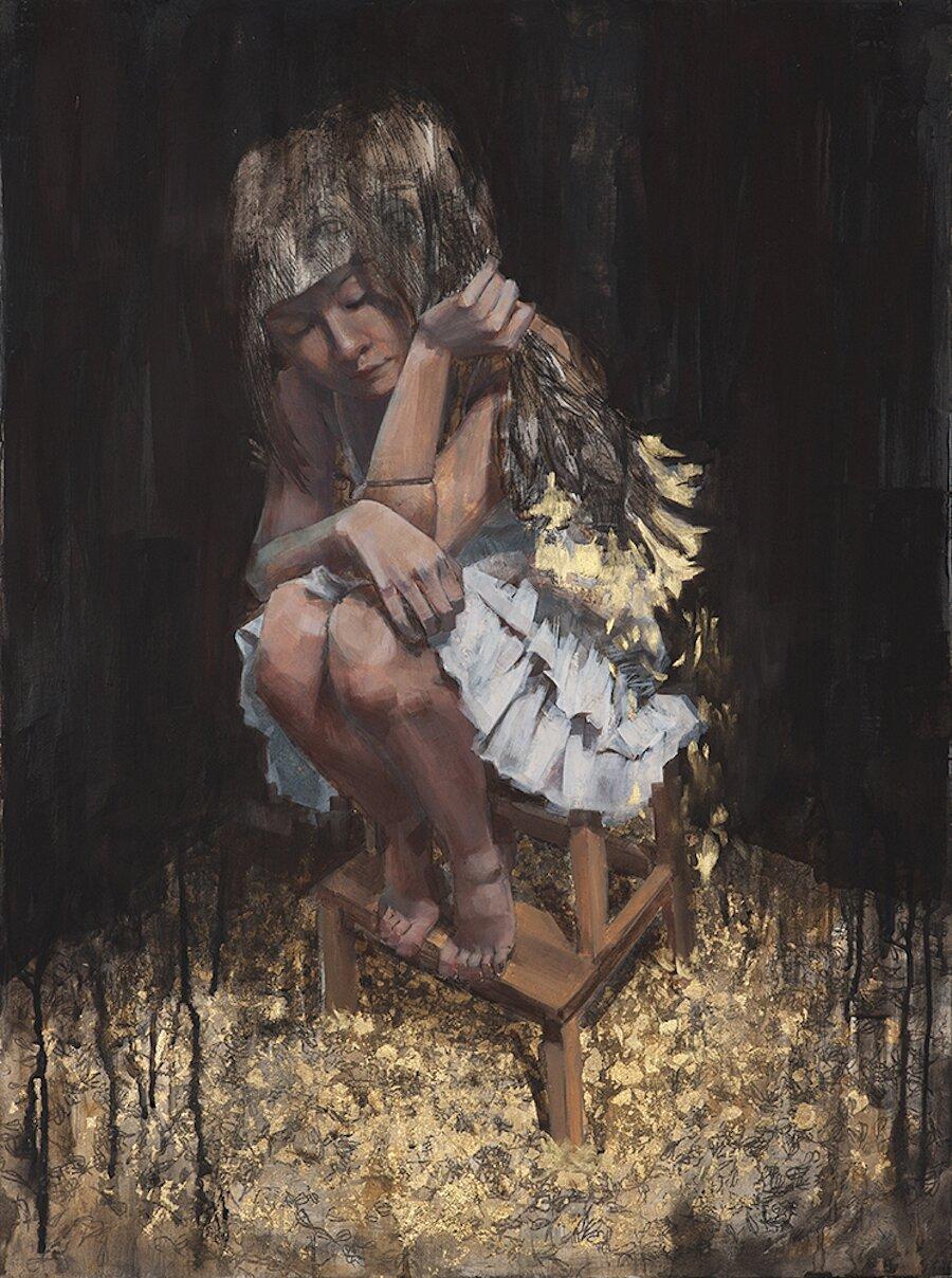 dipinti-olio-ragazze-sensuali-vulnerabili-christine-wu-03
