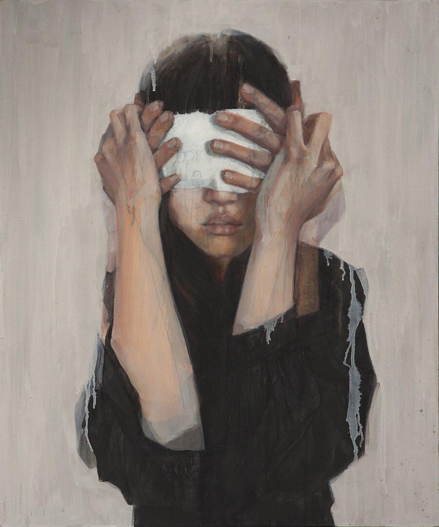 dipinti-olio-ragazze-sensuali-vulnerabili-christine-wu-05
