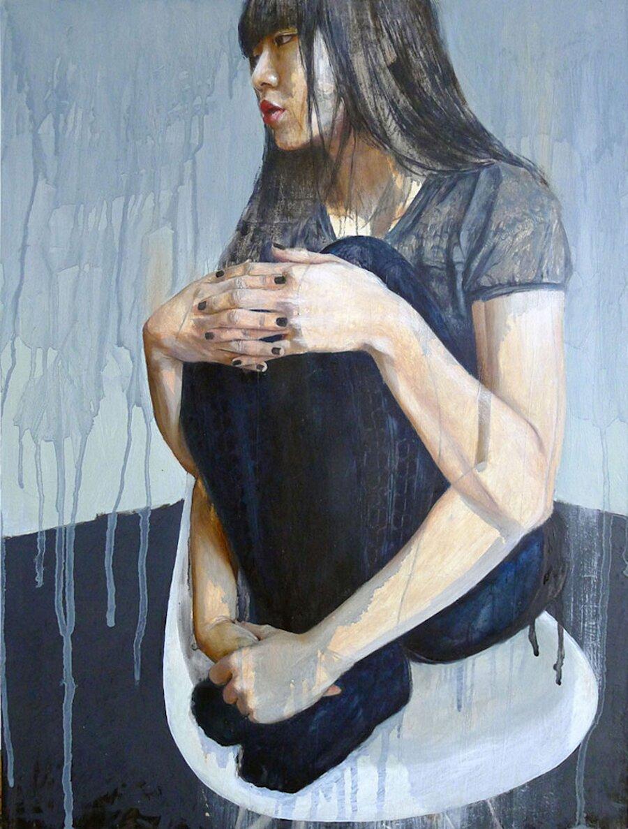 dipinti-olio-ragazze-sensuali-vulnerabili-christine-wu-07