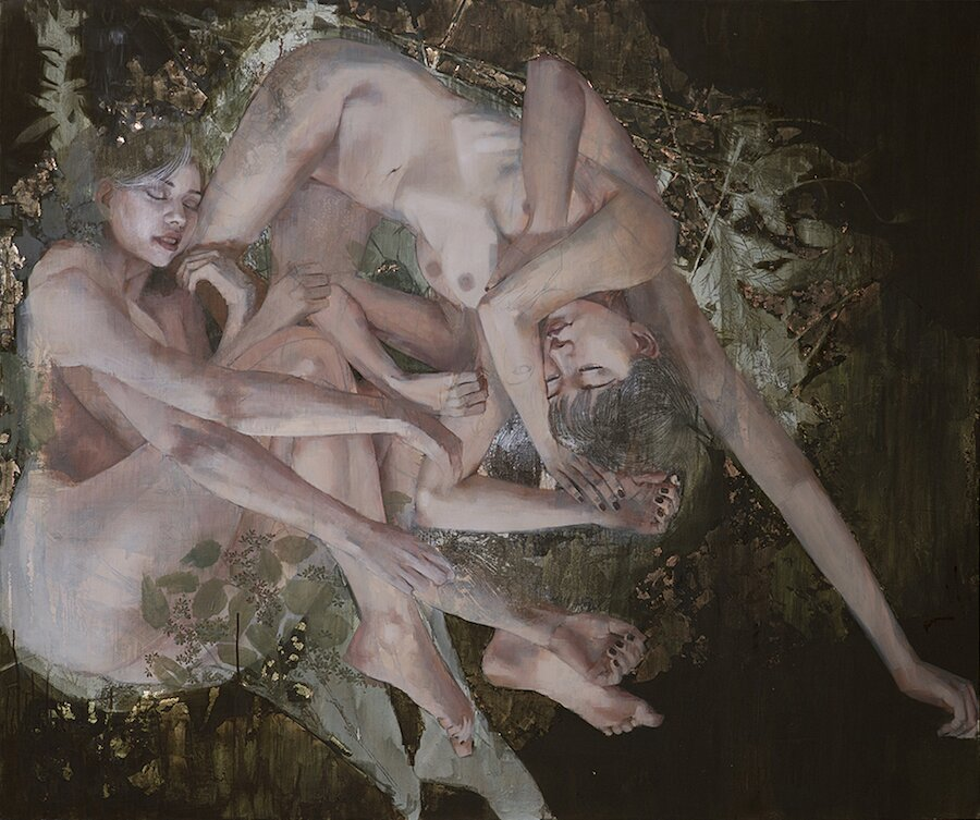 dipinti-olio-ragazze-sensuali-vulnerabili-christine-wu-12