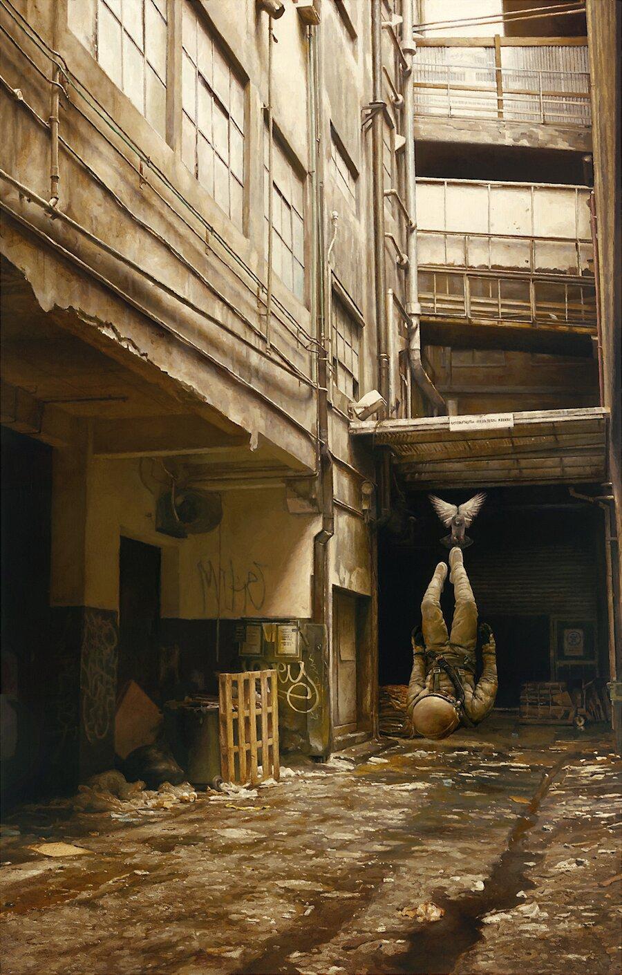 dipinti-surreali-cosmonauti-uccelli-jeremy-geddes-05