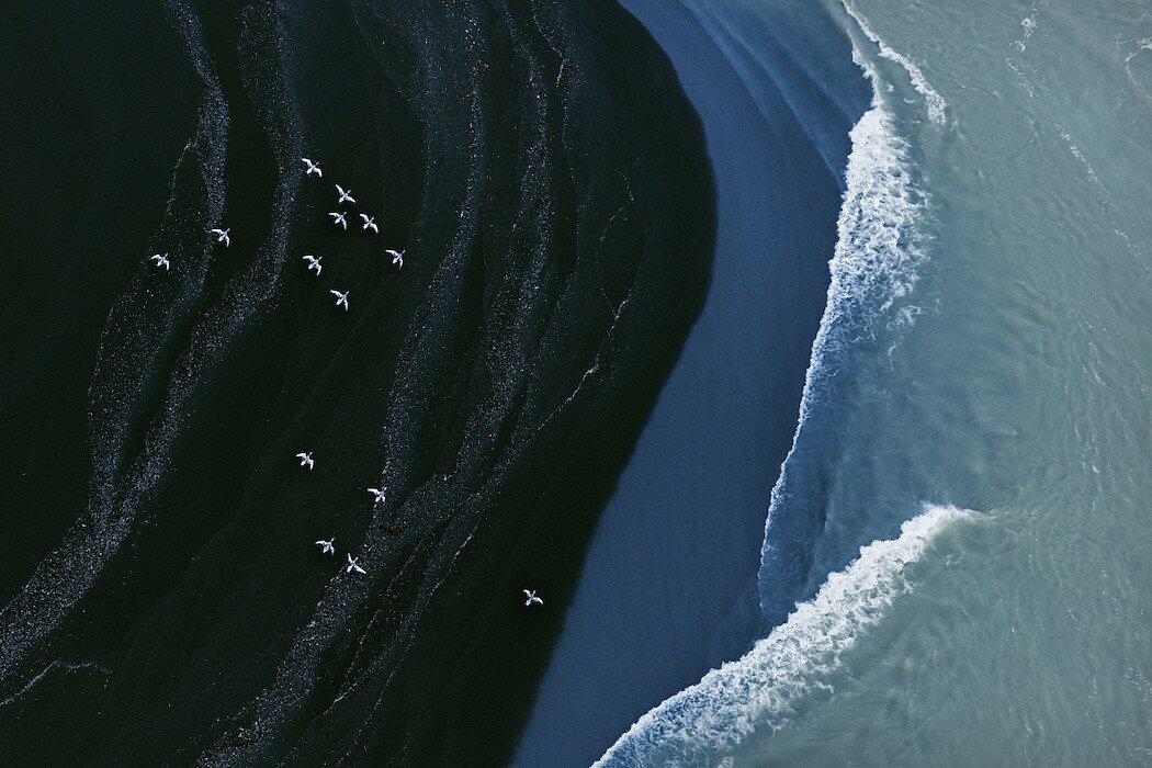 Foto aeree dell 39 islanda che sembrano quadri astratti keblog for Foto minimaliste